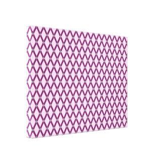 Los marcos púrpuras Diamante-Magentas rosados Impresión En Lienzo