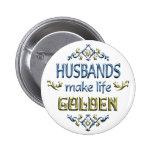 Los maridos hacen vida de oro pin