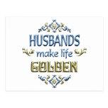 Los maridos hacen vida de oro postal