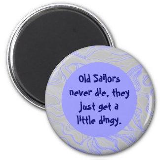 los marineros consiguen sórdidos imán de nevera