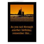 ¡Los marineros consiguen un pequeño bote! Tarjeta Pequeña