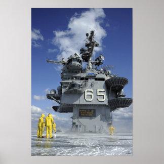 Los marineros del departamento del aire prueban el posters