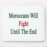 Los marroquíes lucharán hasta el extremo alfombrilla de ratones