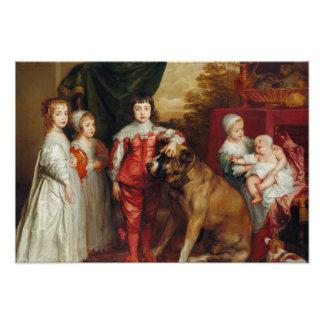 Los más viejos niños de Anthony van Dyck- cinco de Cojinete