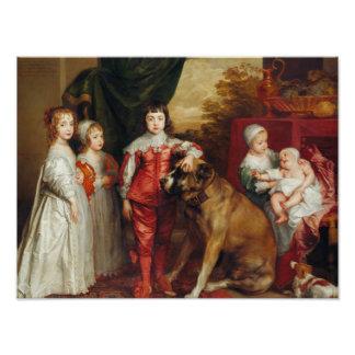 Los más viejos niños de Anthony van Dyck- cinco de Fotografía