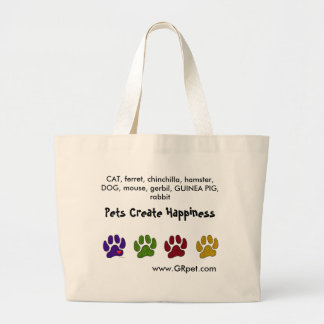 Los mascotas crean el bolso que lleva de la felici bolsas