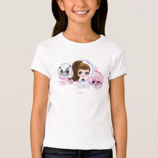 Los mascotas más pequeños: Brillo y brillo Camisas