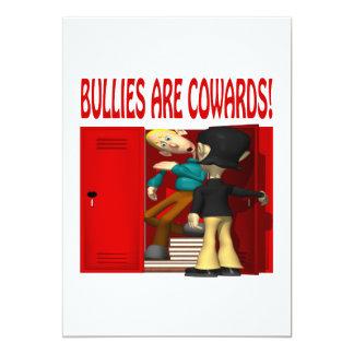 Los matones son cobardes