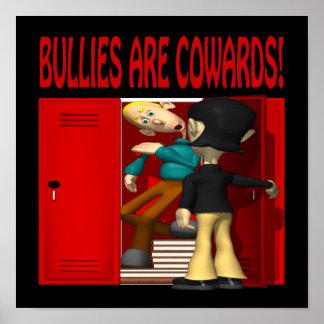 Los matones son cobardes póster