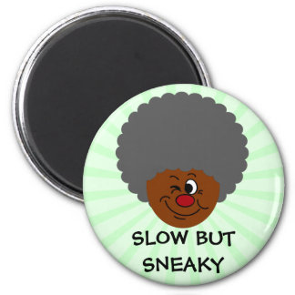 Los mayores pueden mover más lento que niños sino imán redondo 5 cm
