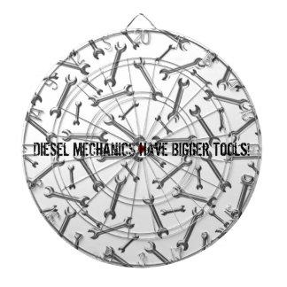 Los mecánicos diesel tienen herramientas más grand