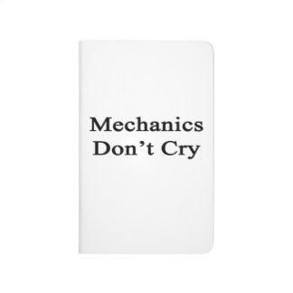 Los mecánicos no lloran cuaderno