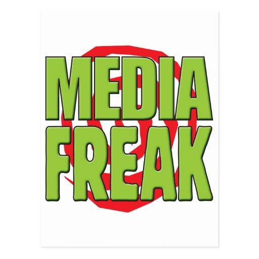 Los medios Freak G Tarjeta Postal