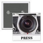 Los medios retros y la prensa del efecto de la cám pin