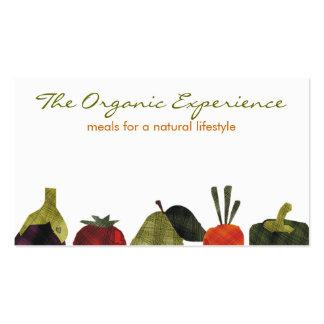 los medios veggies dan fruto cocinando el negocio plantillas de tarjeta de negocio