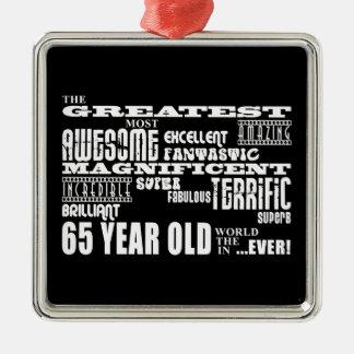 Los mejor sesenta Olds de cinco años: Los 65 años Ornamentos Para Reyes Magos
