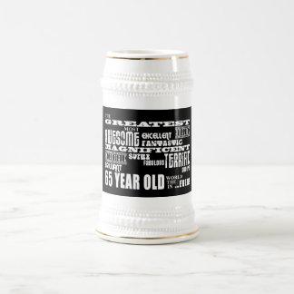 Los mejor sesenta Olds de cinco años Los 65 años Tazas De Café