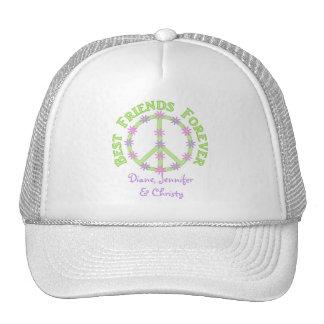 Los mejores amigos personalizados capsulan para si gorras de camionero