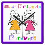 Los mejores amigos registran para siempre relojes