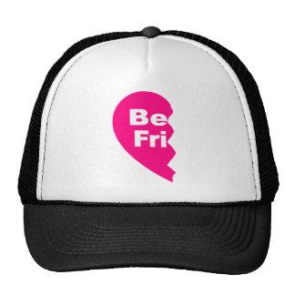 Los mejores amigos, sean fri gorras de camionero