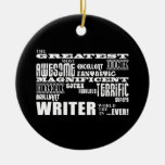 Los mejores autores y escritores: El escritor más Adorno Redondo De Cerámica