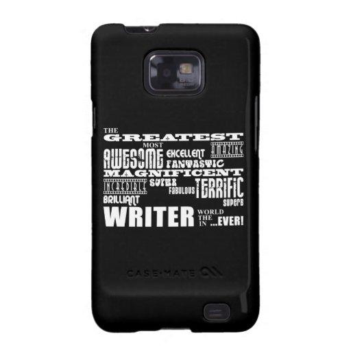 Los mejores autores y escritores: El escritor más  Galaxy S2 Carcasa
