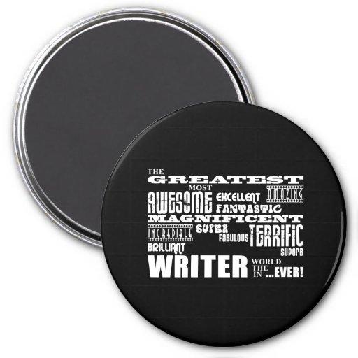 Los mejores autores y escritores: El escritor más  Imán De Frigorifico