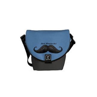 Los mejores bolsos del bigote de Desi del mundo, e Bolsa De Mensajeria