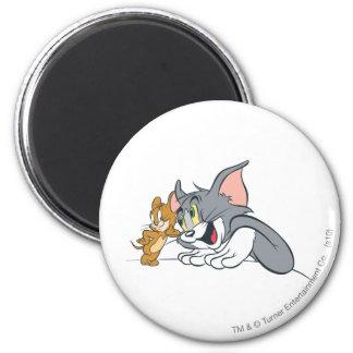 Los mejores brotes de Tom y Jerry Imán Redondo 5 Cm