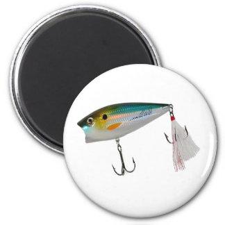 Los mejores cebos de pesca para el bajo y otros imán redondo 5 cm