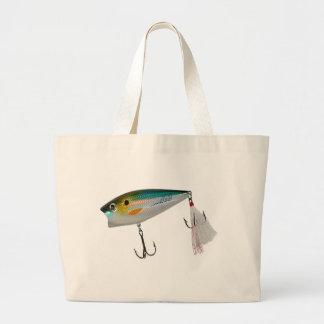 Los mejores cebos de pesca para el bajo y otros pe bolsas de mano
