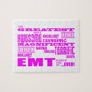 Los mejores chicas EMTs: EMT más grande rosado Puzzles