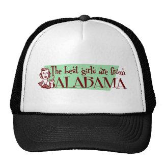Los mejores chicas son de Alabama Gorros