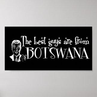 Los mejores chicas son de Botswana Poster