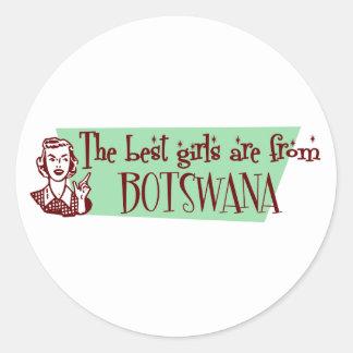 Los mejores chicas son de Botswana Etiqueta