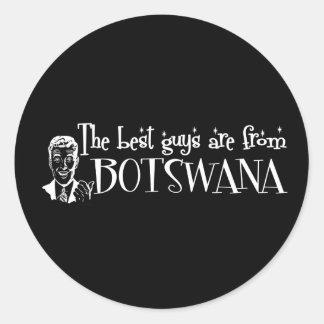 Los mejores chicas son de Botswana Etiqueta Redonda