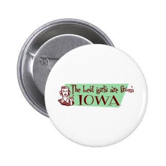 Los mejores chicas son de Iowa Pin
