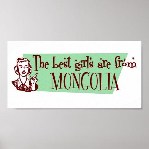 Los mejores chicas son de Mongolia Poster