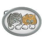 Los mejores compinches - dos gatitos hebilla cinturón