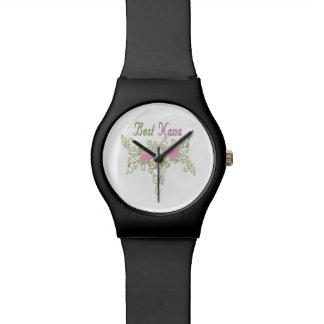 Los mejores corazones que remolinan de Nana Relojes De Mano