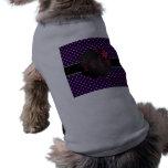 Los mejores diamantes de la púrpura de la mamá del camisetas de perro