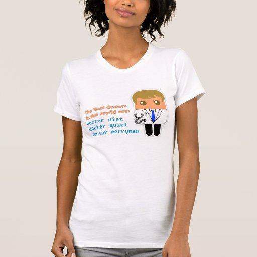 """Los """"mejores doctores en camiseta menuda de las"""