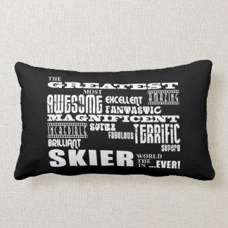 Los mejores esquiadores: El esquiador más grande Cojines