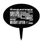 Los mejores halterófilos de peso: El levantador de Decoración De Tarta