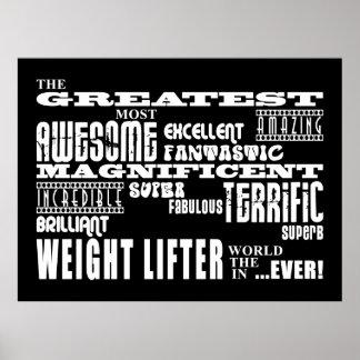 Los mejores halterófilos de peso: El levantador de Poster