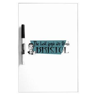 Los mejores individuos son de Bristol Tableros Blancos