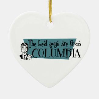 Los mejores individuos son de Columbia MES Adorno De Cerámica En Forma De Corazón
