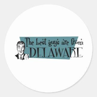 Los mejores individuos son de Delaware Etiqueta Redonda