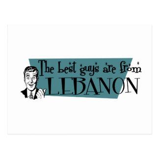 Los mejores individuos son de Líbano Postal