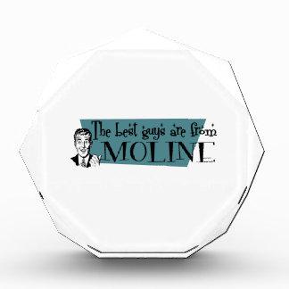 Los mejores individuos son de Moline